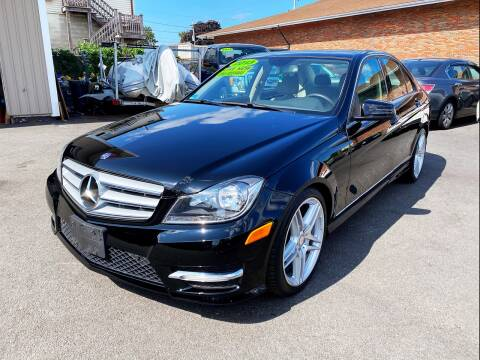 2013 Mercedes-Benz C-Class for sale at Dijie Auto Sale and Service Co. in Johnston RI