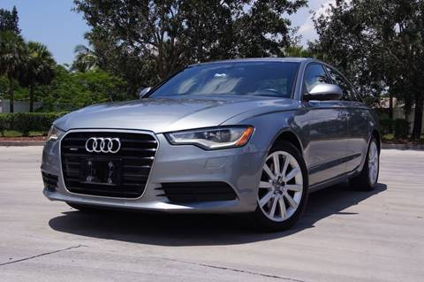 2013 Audi A6 for sale at EV Direct in Lauderhill FL