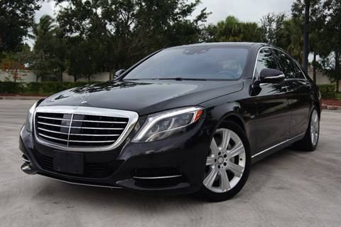 2014 Mercedes-Benz S-Class for sale at EV Direct in Lauderhill FL