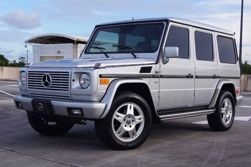 2002 Mercedes-Benz G-Class for sale at EV Direct in Lauderhill FL