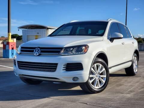 2013 Volkswagen Touareg for sale at EV Direct in Lauderhill FL