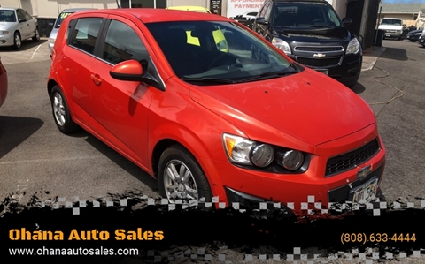 2012 Chevrolet Sonic for sale in Wailuku, HI