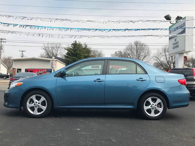 2012 Toyota Corolla For Sale At E Pro Auto Sales In Kokomo IN