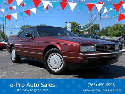 1987 Cadillac Allante for sale in Kokomo, IN