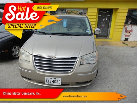 2008 Chrysler Town and Country for sale in Haltom City, TX