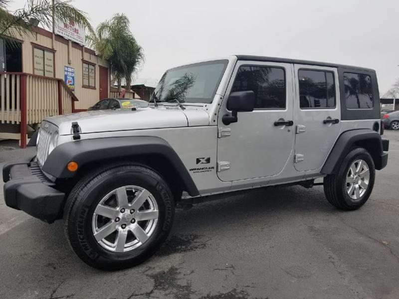 Superb 2008 Jeep Wrangler Unlimited For Sale At ALL FICO AUTO INC In Walnut Creek  CA