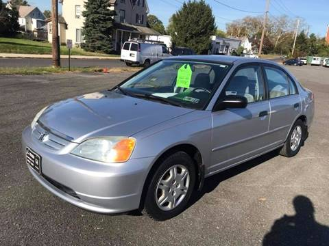 2001 Honda Civic for sale in Pennsburg PA