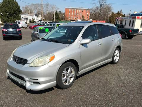 2004 Toyota Matrix for sale at Mayer Motors of Pennsburg in Pennsburg PA