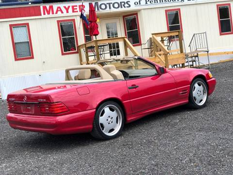 1998 Mercedes-Benz SL-Class for sale at Mayer Motors of Pennsburg in Pennsburg PA