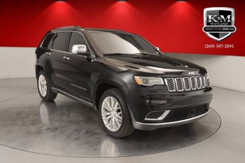 2017 Jeep Grand Cherokee for sale at K&M Wayland Chrysler  Dodge Jeep Ram in Wayland MI