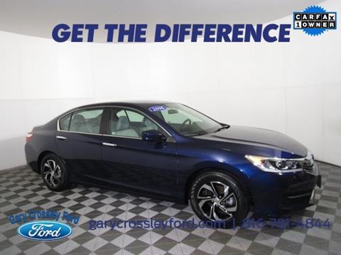2016 Honda Accord for sale in Kansas City, MO