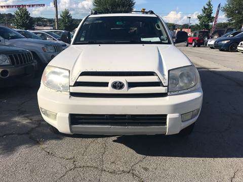 2004 Toyota 4Runner For Sale At E5 Motors LLC In Knoxville TN