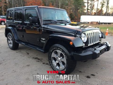 2018 Jeep Wrangler Unlimited for sale in Epsom, NH
