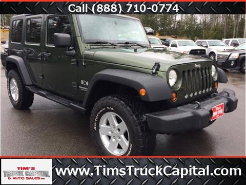 2008 Jeep Wrangler Unlimited for sale in Epsom, NH