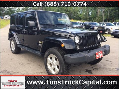 2014 Jeep Wrangler Unlimited for sale in Epsom, NH