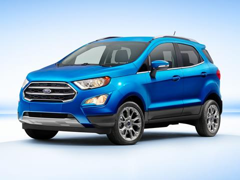 2018 Ford EcoSport Titanium for sale at TTC AUTO OUTLET/TIM'S TRUCK CAPITAL & AUTO SALES INC ANNEX in Epsom NH