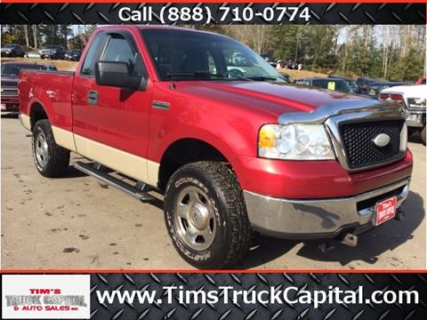2007 Ford F-150 for sale at TTC AUTO OUTLET/TIM'S TRUCK CAPITAL & AUTO SALES INC ANNEX in Epsom NH