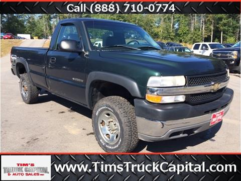 2002 Chevrolet Silverado 2500HD for sale at TTC AUTO OUTLET/TIM'S TRUCK CAPITAL & AUTO SALES INC ANNEX in Epsom NH
