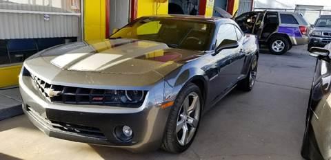 Used chevrolet camaro for sale in el paso tx for Superstar motors el paso