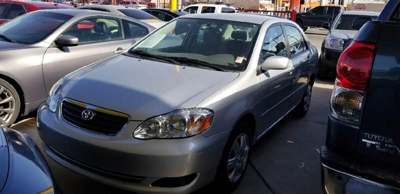 2008 Toyota Corolla For Sale At FM AUTO SALES In El Paso TX