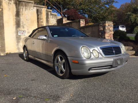 2002 Mercedes-Benz CLK for sale at WENTZ AUTO SALES in Lehighton PA