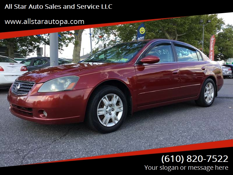 2005 Nissan Altima For Sale At All Star Auto Sales And Service LLC In  Allentown PA