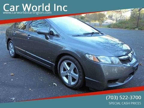 2010 Honda Civic for sale at Car World Inc in Arlington VA