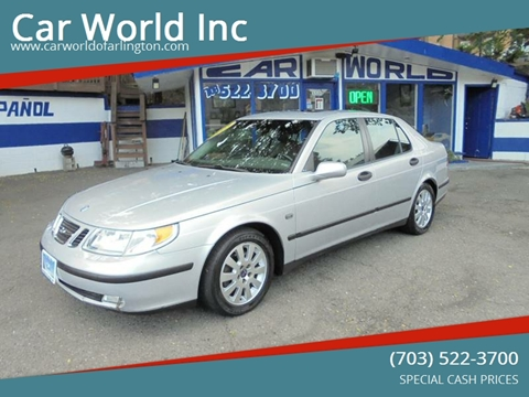 2003 Saab 9-5 for sale at Car World Inc in Arlington VA