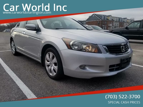 2008 Honda Accord for sale at Car World Inc in Arlington VA