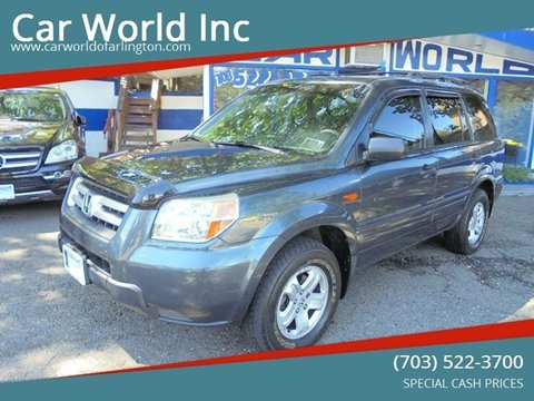 2006 Honda Pilot for sale at Car World Inc in Arlington VA