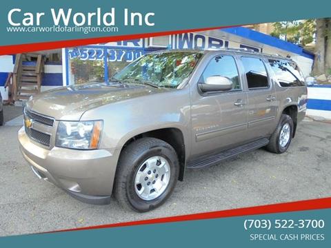 2013 Chevrolet Suburban for sale at Car World Inc in Arlington VA