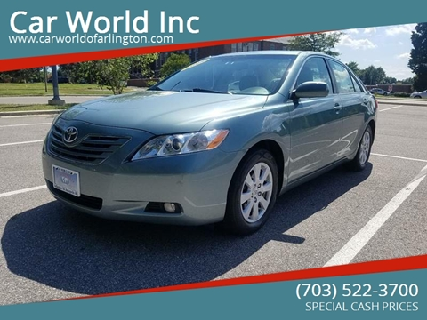 2008 Toyota Camry for sale at Car World Inc in Arlington VA