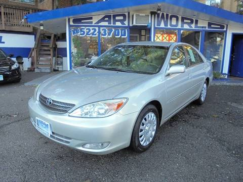 2003 Toyota Camry for sale at Car World Inc in Arlington VA