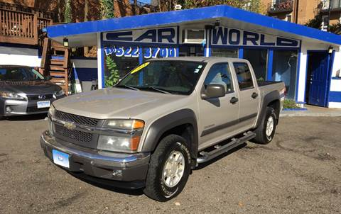 2004 Chevrolet Colorado for sale at Car World Inc in Arlington VA