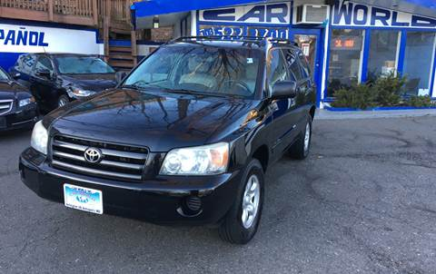 2007 Toyota Highlander for sale at Car World Inc in Arlington VA