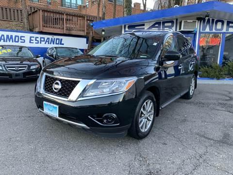 2015 Nissan Pathfinder for sale at Car World Inc in Arlington VA