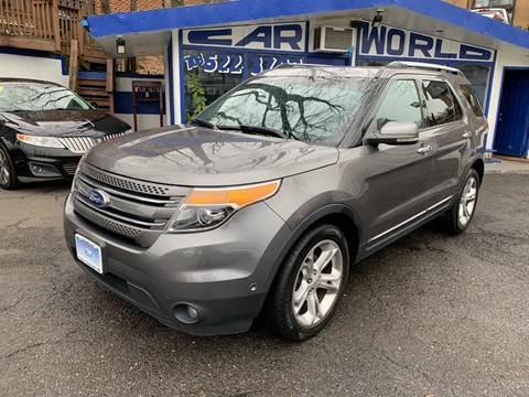 2012 Ford Explorer for sale at Car World Inc in Arlington VA