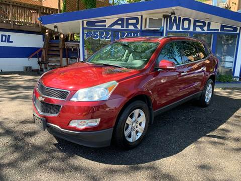 2011 Chevrolet Traverse for sale at Car World Inc in Arlington VA