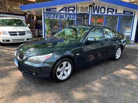 2007 BMW 5 Series for sale at Car World Inc in Arlington VA