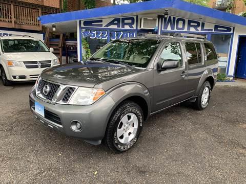 2008 Nissan Pathfinder for sale at Car World Inc in Arlington VA