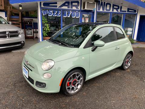 2012 FIAT 500 for sale at Car World Inc in Arlington VA