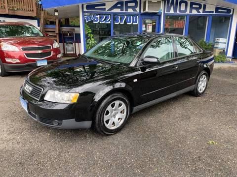 2003 Audi A4 for sale at Car World Inc in Arlington VA