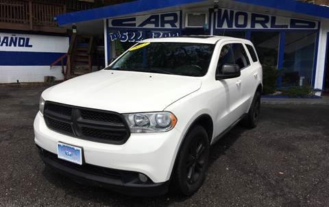 2012 Dodge Durango for sale at Car World Inc in Arlington VA