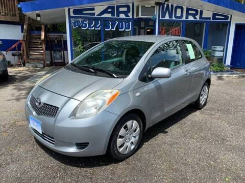 2008 Toyota Yaris for sale at Car World Inc in Arlington VA