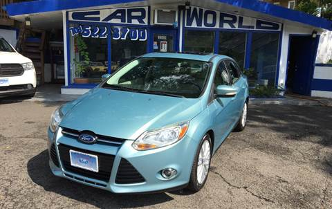 2012 Ford Focus for sale at Car World Inc in Arlington VA