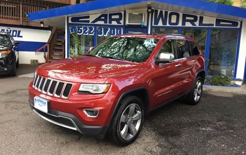 2014 Jeep Grand Cherokee for sale at Car World Inc in Arlington VA
