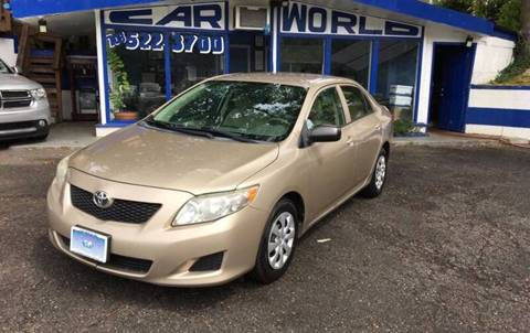 2010 Toyota Corolla for sale at Car World Inc in Arlington VA