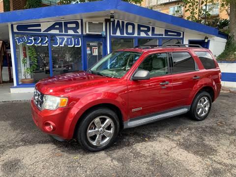 2008 Ford Escape for sale at Car World Inc in Arlington VA