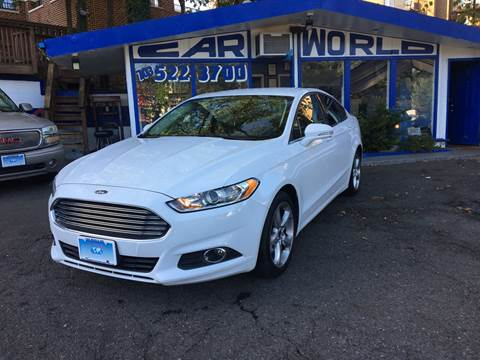 2015 Ford Fusion for sale at Car World Inc in Arlington VA