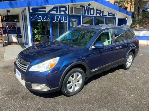2010 Subaru Outback for sale at Car World Inc in Arlington VA